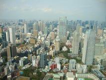 une vue vers Tokyo de la tour photos stock