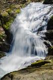 Une vue verticale de Crabtree tombe dans Ridge Mountains bleu de la Virginie, Etats-Unis photo libre de droits
