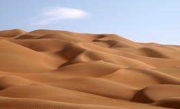 Unebenheit Al Khali 1 Stockfotos