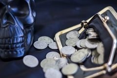 Unebenheit des Geldes 2 Lizenzfreies Stockbild