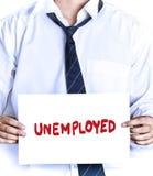Unemployed Royalty Free Stock Photo