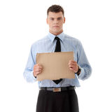 Unemployed businessman Stock Images