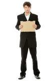 Unemployed businessman Stock Photography