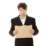 Unemployed businessman Stock Photos