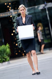 Unemployed Businesswoman Royalty Free Stock Photo