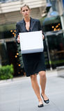 Unemployed Businesswoman Stock Images