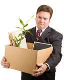 Unemployed Executive Royalty Free Stock Photo