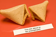 Unemployed Fortune Cookie Stock Images