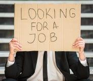 Unemployed man Royalty Free Stock Images
