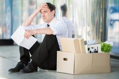 Unemployed man Stock Images