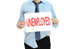 Unemployed person Stock Photo