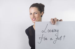 UNEMPLOYED WOMAN Stock Photos