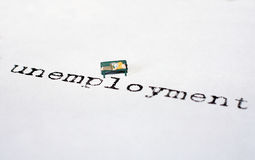 Unemployment Royalty Free Stock Photo