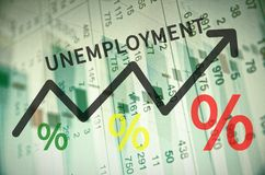 Unemployment Rise Stock Photography