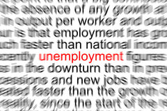 Unemployment Stock Images