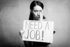 Unemployment Royalty Free Stock Images