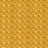 Unending raster gold. Endless luxury retro underlying grid for packaging printing, paper, wallpaper, tiles and ceremonial textiles and accessories. Raster royalty free illustration