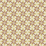 Unending raster gold star. Endless luxury retro underlying grid for packaging printing, paper, wallpaper, tiles and ceremonial textiles and accessories Stock Illustration