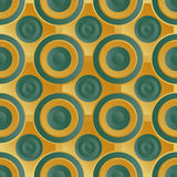 Unending raster green gold Stock Image