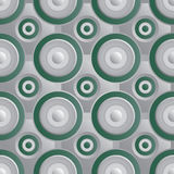 Unending raster green silver Royalty Free Stock Image
