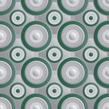 Unending raster green silver. Endless luxury retro underlying grid for packaging printing, paper, wallpaper, tiles and ceremonial textiles and accessories Royalty Free Stock Photo
