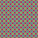 Unending raster magenta. Endless luxury retro underlying grid for packaging printing, paper, wallpaper, tiles and ceremonial textiles and accessories. Raster stock illustration