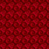 Unending raster red. Endless luxury retro underlying grid for packaging printing, paper, wallpaper, tiles and ceremonial textiles and accessories. Raster vector illustration