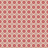 Unending raster red. Endless luxury retro underlying grid for packaging printing, paper, wallpaper, tiles and ceremonial textiles and accessories Royalty Free Stock Images