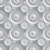 Unending raster silver Royalty Free Stock Photos