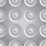 Unending raster silver Stock Photos