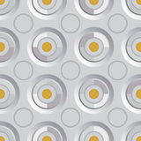 Unending raster silver gold. Endless luxury retro underlying grid for packaging printing, paper, wallpaper, tiles and ceremonial textiles and accessories Stock Photo