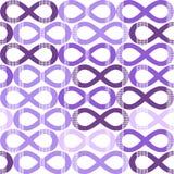 Unendlichkeits-nahtloses Muster Stockbild