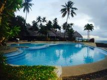 Unendlichkeits-Swimmingpool Lizenzfreies Stockfoto