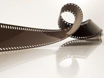 Unentwickelter Filmstreifen Lizenzfreie Stockfotos