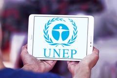 UNEP, логотип программы окружающей среды Организации Объединенных Наций Стоковые Фото