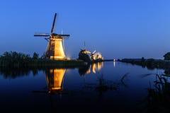 Unesco światowego dziedzictwa wiatraczki obraz royalty free