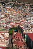 unesco городка Мексики guanajuato исторический Стоковые Фото