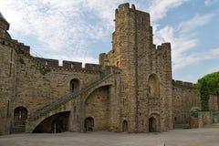 unesco Франции замока carcassonne Стоковое Фото