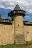 unesco Франции замока carcassonne Стоковые Изображения RF