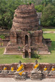 UNESCO ayutthaya temples in thailand Stock Photography
