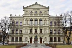 Unesco beschermde stad Kromeriz, Tsjechische republiek stock foto's