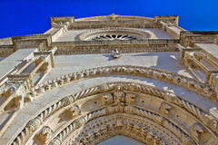 UNESCO cathedral of Saint James front facade Stock Image