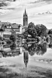 UNESCO city in Czech republic - Telc Stock Photography