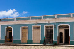 UNESCO Cuba Building and Architecture in Trinidad Royalty Free Stock Photography