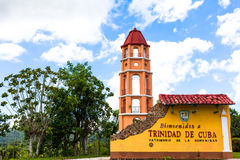 UNESCO Cuba Building and Architecture in Trinidad 10 Stock Photography