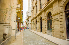 Unesco declared historic center of Havana Stock Images