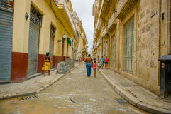 Unesco declared historic center of Havana Royalty Free Stock Photo
