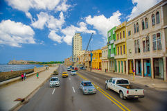 Unesco declared historic center of Havana Royalty Free Stock Photos