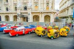 Unesco declared historic center of Havana Stock Photo