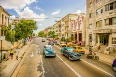 Unesco declared historic center of Havana Royalty Free Stock Image